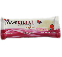 Barra de Proteina Power Crunch Fresa y Crema