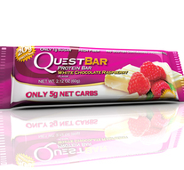 Barra de Proteína QuestBar Chocolate y Frambuesa