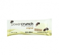 Barra de Proteina Power Crunch Cookies and Cream
