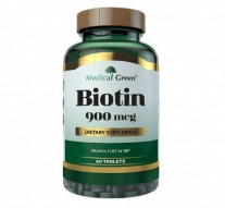 Biotina 900 mcg Medical Green x 60 und